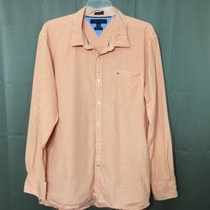 Tommy Hilfiger 80's 2-Ply Fabric Mens Button Front